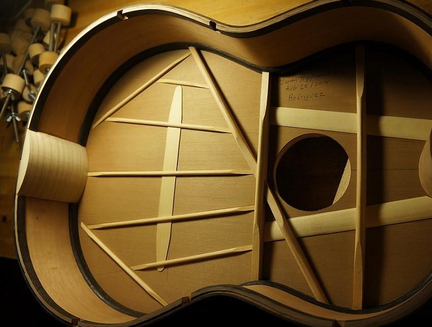 Classical Guitar Bracing
